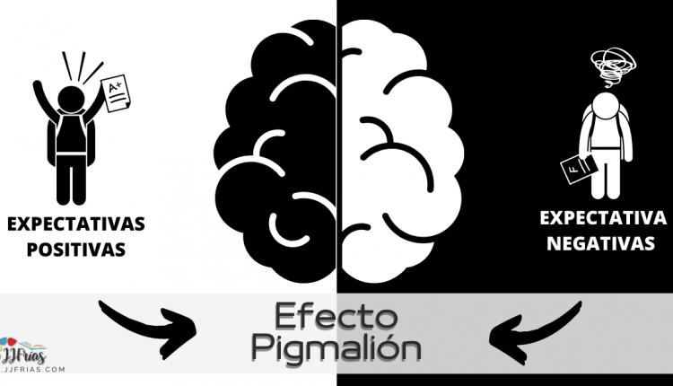 Efecto Pigmalión. Expectativas positivas vs expectativas negativas en estudiantes.